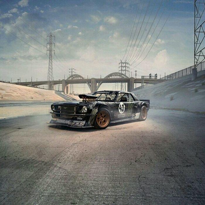 Hoonigan Mustang Build