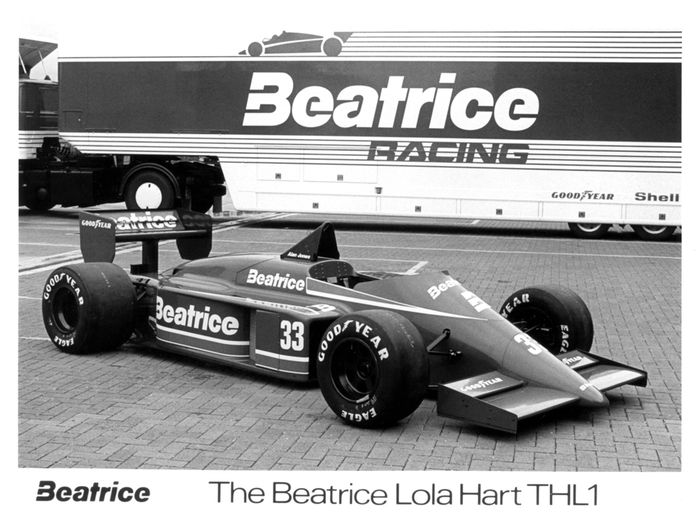 Development Drag Haas Lola
