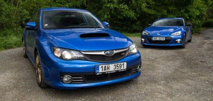 Brz Vs Wrx >> Subaru Brz Vs Subaru Wrx Sti