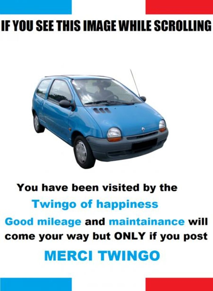 The Twingo Of Happiness Is Here People