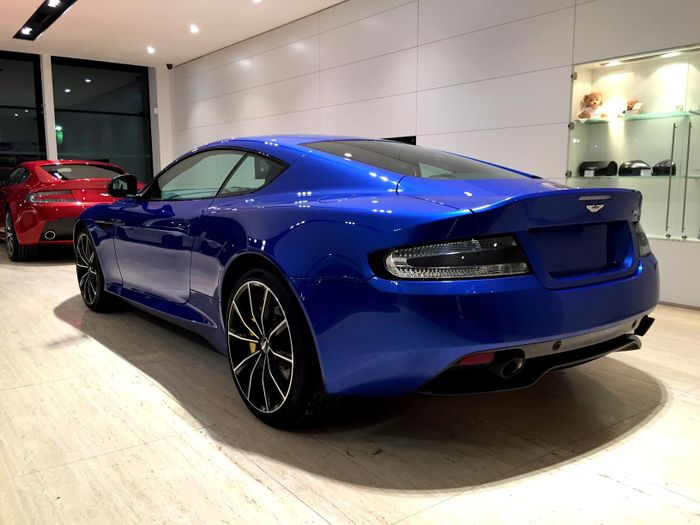 aston martin vanquish cobalt blue. our latest showroom addition at aston martin chichester the db9gt in cobalt blue what do you think of colour combo vanquish