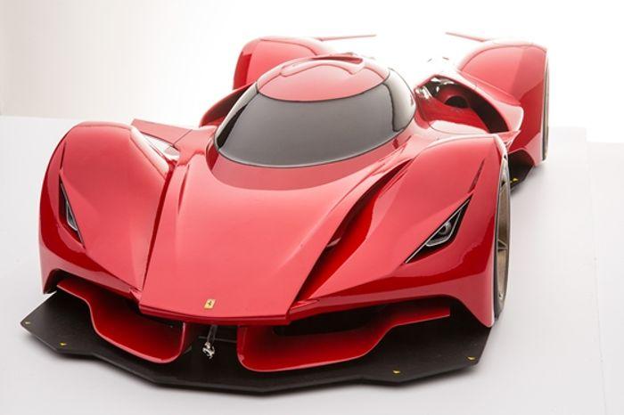 Ferrari Le Mans concept art by an American designer.