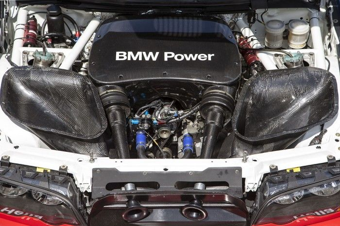 The Engine Bay Of The V8 Powered M3 GTR