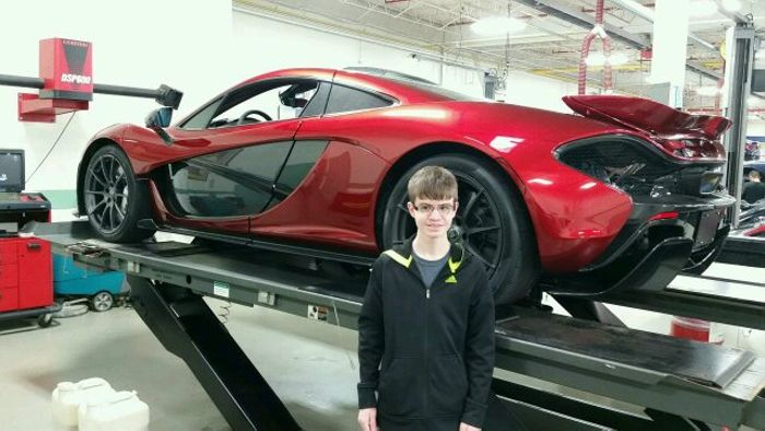 Lake Forest Sports Cars >> Mclaren P1 At Lake Forest Sports Cars In Lake Bluff Il