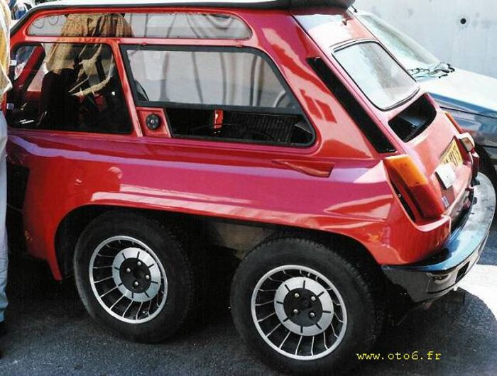 the renault 5 turbo 6x6 gallery. Black Bedroom Furniture Sets. Home Design Ideas