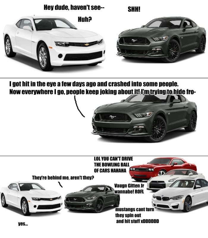 Since Everyone Seems To Keep Posting Those Mustang Memes