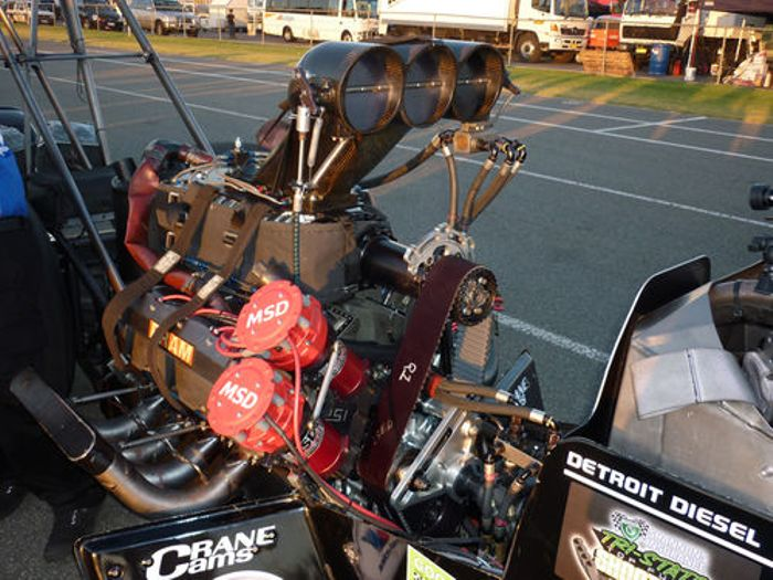 Unholy And Sd Top Fuel Dragsters