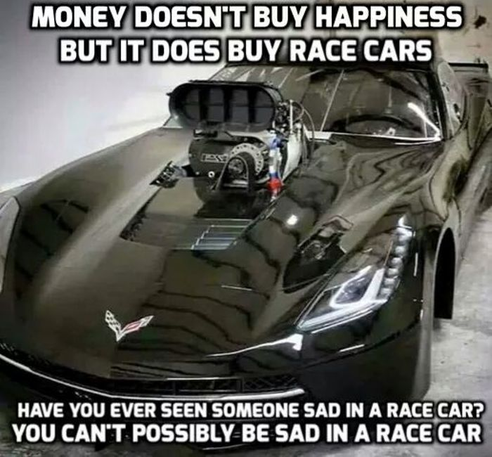 So it means money does buy happiness!