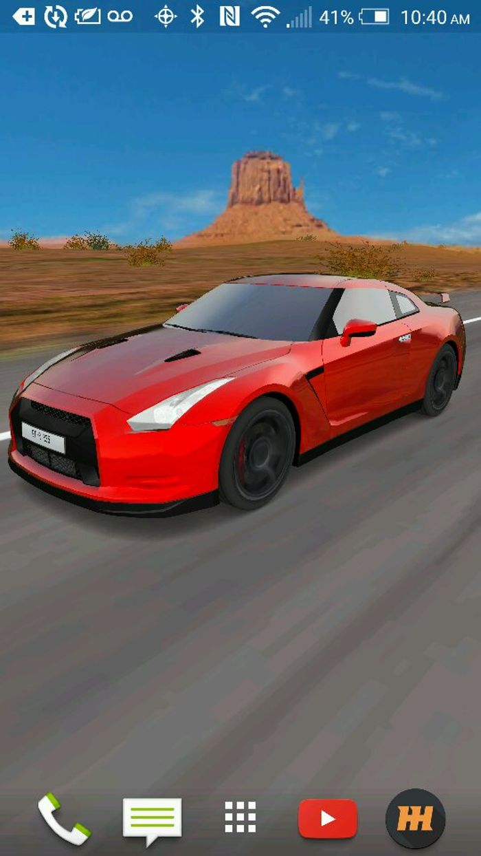 3d Car Live Wallpaper Because Gt R R35pect I Don T Have A Screen