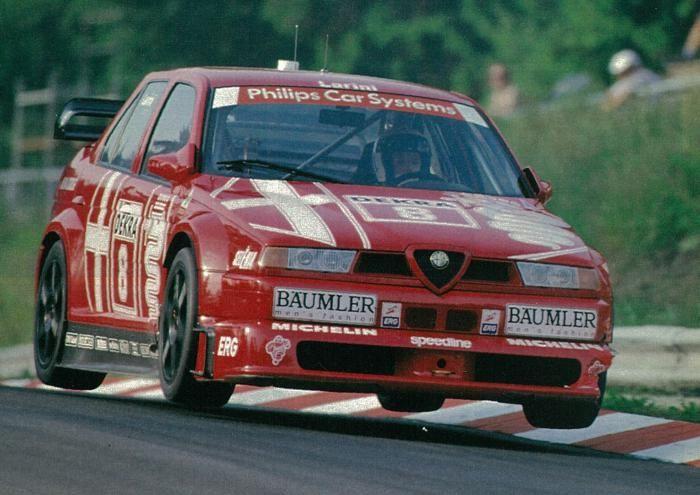 Alpha Male - 1993 Alfa Romeo 155 V6 TI DTM