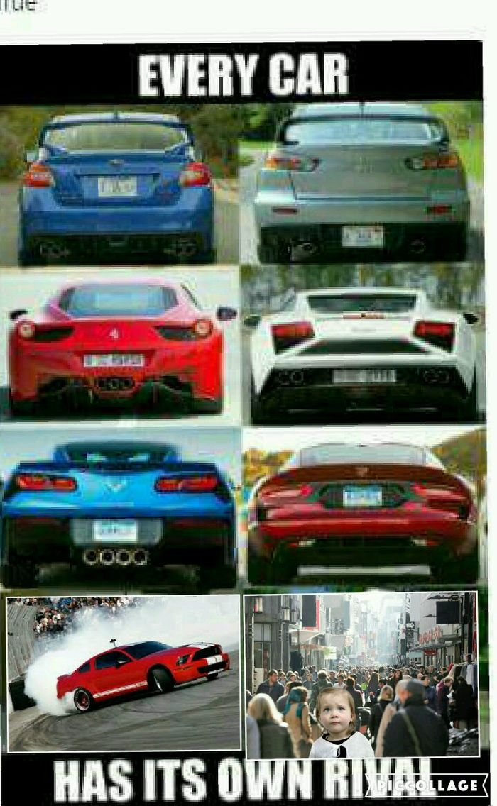 Every car has an rival
