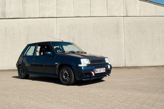 1990 renault 5 gte 2 0 itb 39 d trackslag for Garage renault 94
