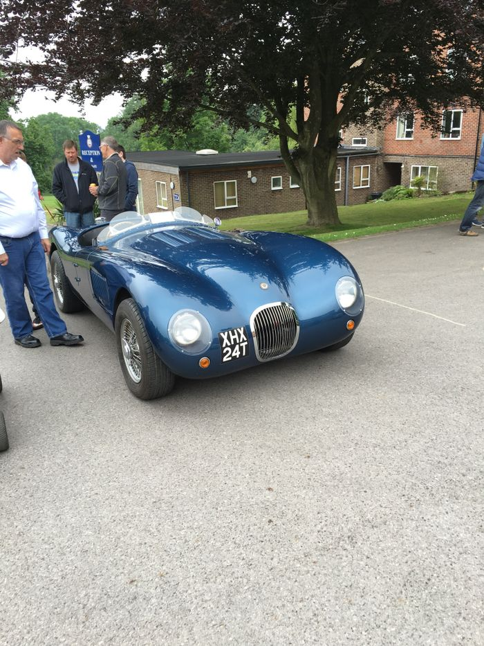 Replica C type, but all parts and components were jaguar and