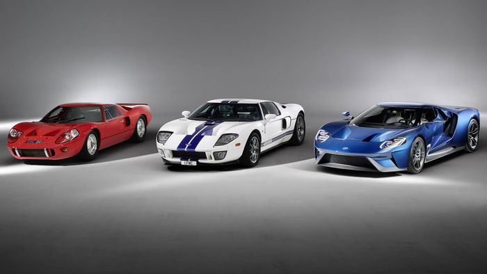 Ford Gt 2017 V 2006 Or Ford Gt 40