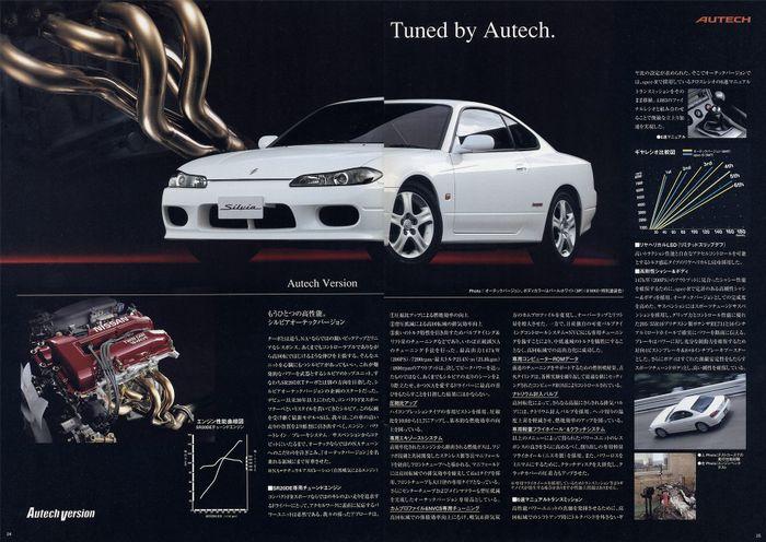 BlogPost - the Three Autech Versions of the S15 Silvia