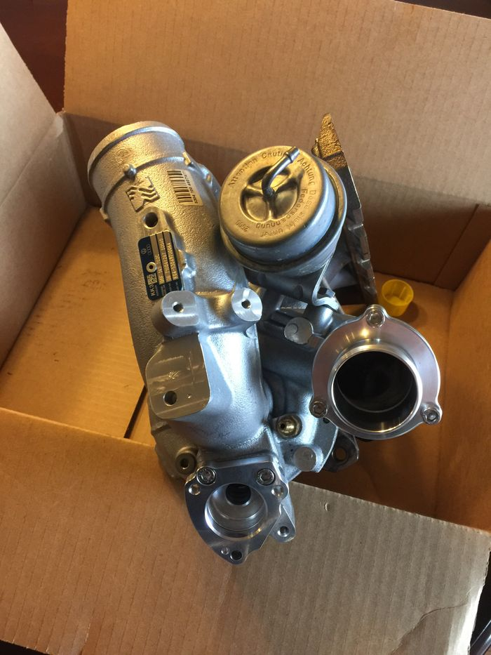 I have a K04 turbo for sale, it's custom machined by