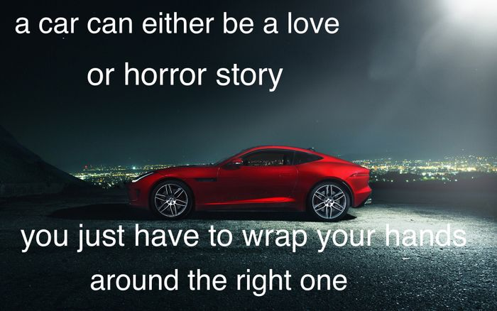 Cars Quotes: My First Try At Inspirational Car Quotes, Please Be Nice