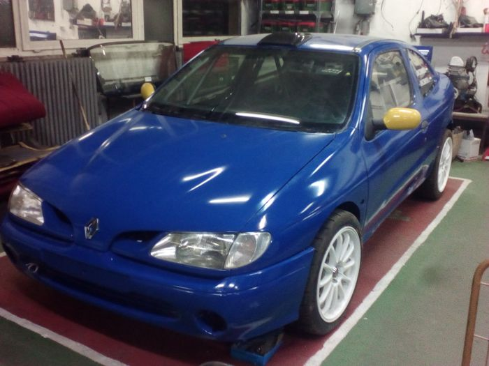 2001 renault megane 1 ph i coupe rally n group. Black Bedroom Furniture Sets. Home Design Ideas