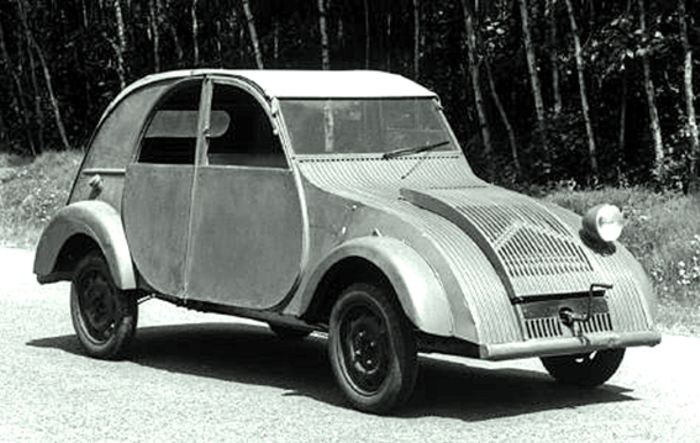 citro n tpv prototype 1937 tr s petite voiture very. Black Bedroom Furniture Sets. Home Design Ideas