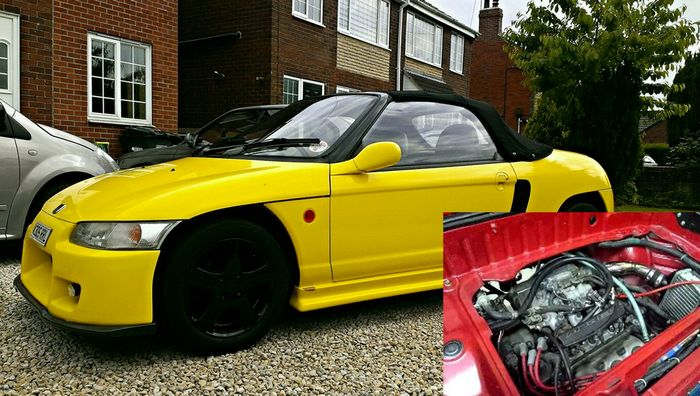Featured In The Most Epic Of Kei Cars Rwd Honda Beat This 656cc Was A 90s Anese Legend