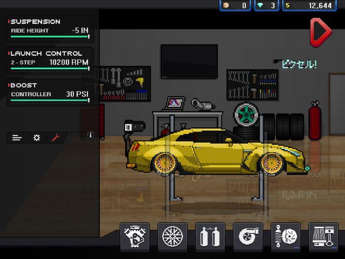 Gtr Help Pixel Car Racer