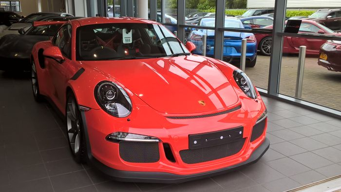 Porsche GT RS Spotted At Redline Specialist Cars Harrogate - Sports cars harrogate