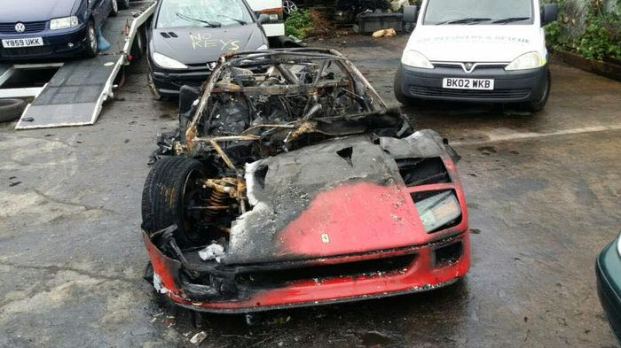 This Newly Restored Ferrari Burned To The Ground On Its First