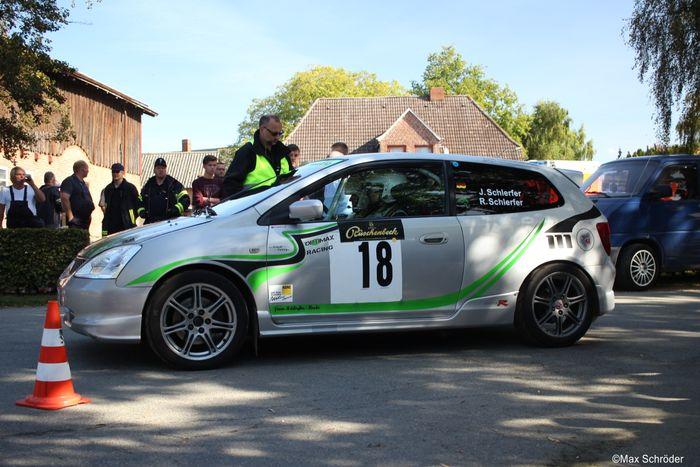Honda civic type r ep3 rally car for Honda civic rally car