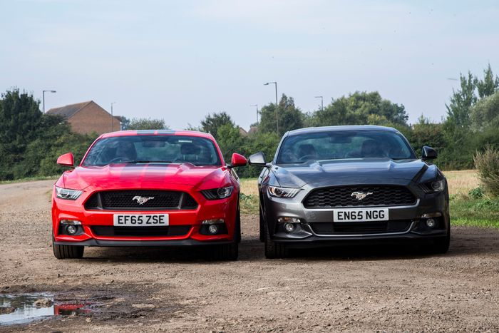 7 Exterior Differences Between The Ford Mustang GT And Ecoboost
