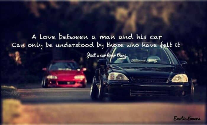 Give Me Your Best Car Love Related Quotes