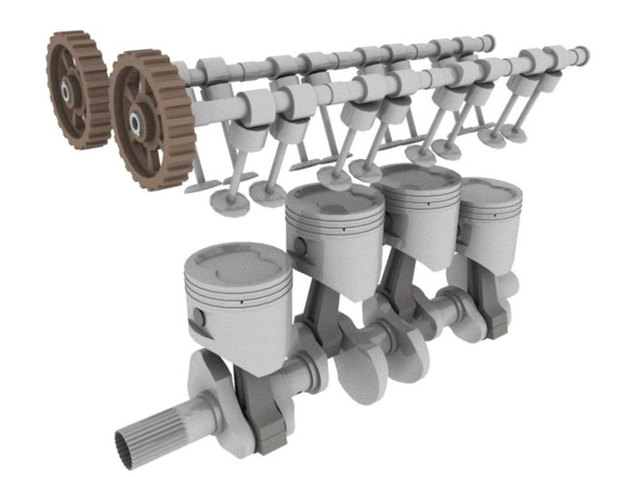 camshafts and crankshafts explained the simple way