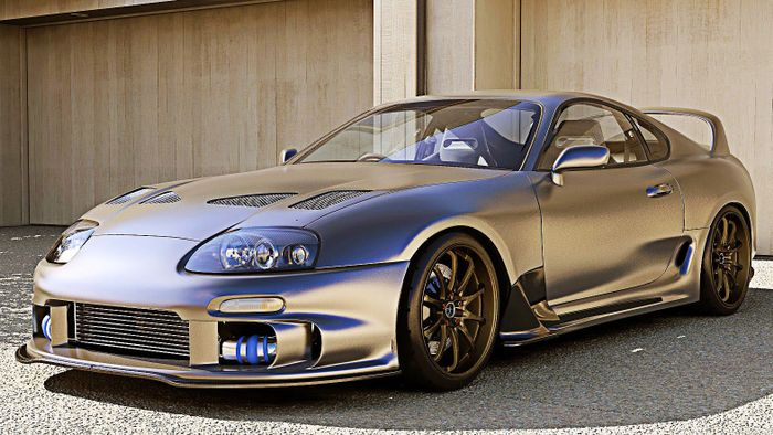 The MK4 Supra, yet another article.