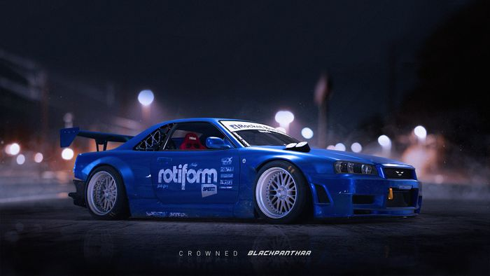 Forza 7 Update >> BlackPanthaa's Rocket Bunny Skyline R34