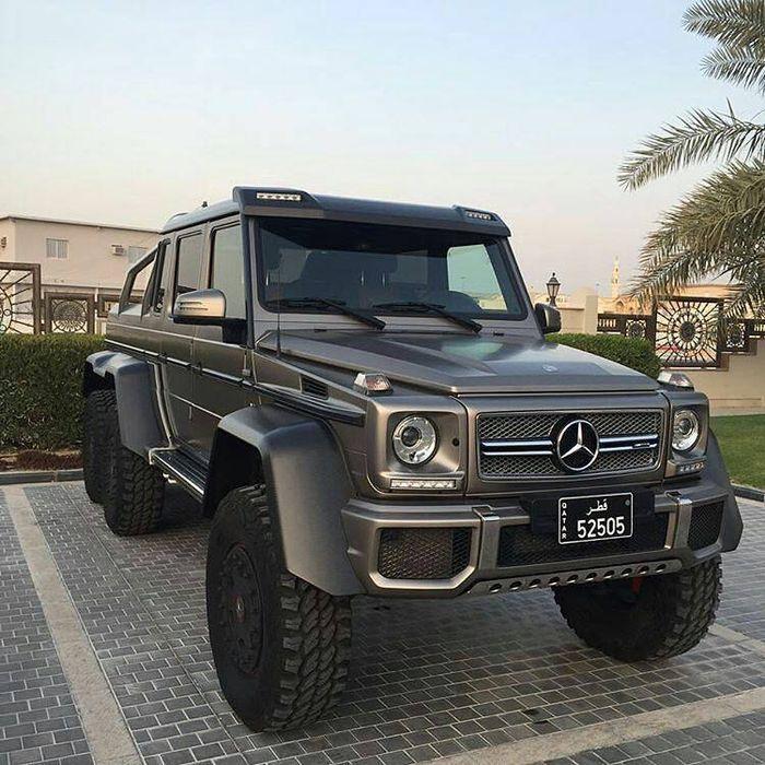 Mercedes Benz G63 Used: Mercedes-Benz G63 6x6 & SLS AMG Black Series In Qatar