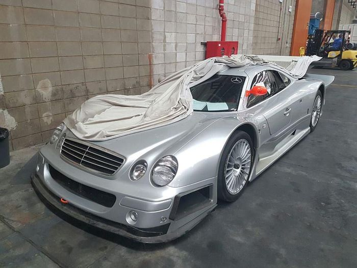 The Only Mercedes Benz Clk Gtr In Brazil Is Going For The