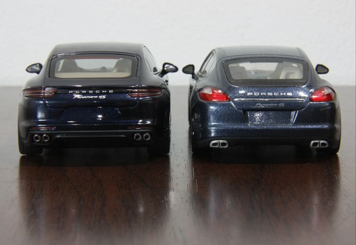 Porsche Panamera. Old vs. New on