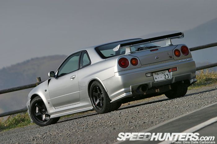The history of the R34 GTR  #BlogPost