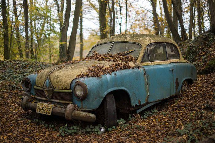Junkyard classic cars near me