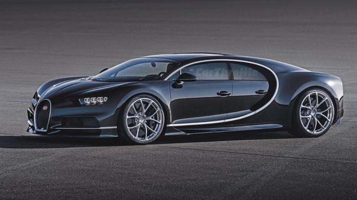 4. Bugatti Chiron. 10 Two Door Cars ...