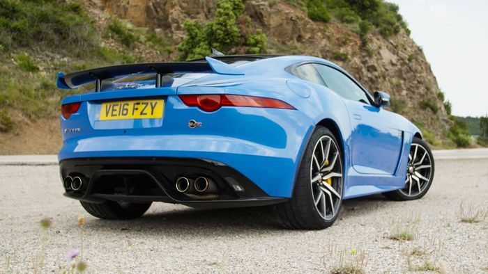 The F Type Svr Will Probably Be One Of Last Supercharged Cars Produced By Jaguar