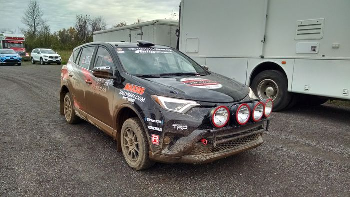 Toyotas new rally supercar isa rav4 a few weeks ago i got a call from toyota asking if id l like to hang with them at the lake superior performance rally the final round of the rally publicscrutiny Images