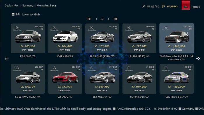 Gran Turismo Sport Used Car Dealership