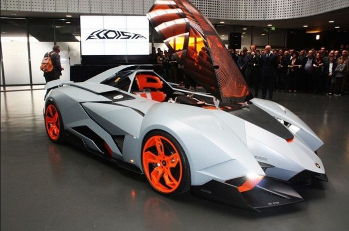 Lamborghini Egoista 5 2l V10 Engine Generating Around 600hp
