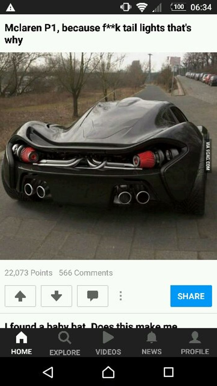 When Someone On 9gag Thinks That They Know About Cars But