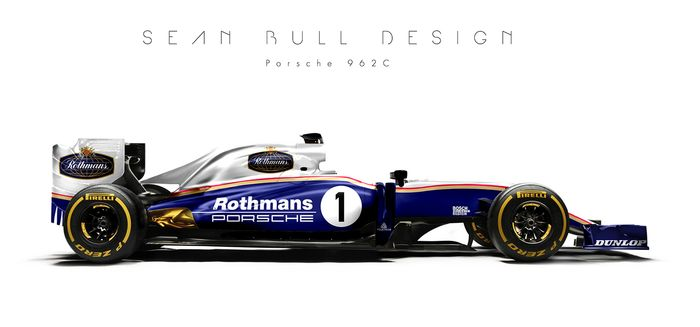 Putting Them On A 2016 F1 Car Shows Just How Boring And Dull Some Of The Modern Colour Schemes Are