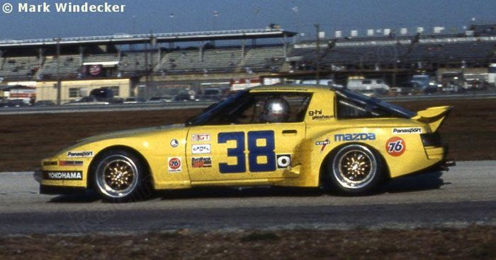 1984 Brought The RX 7 Its First GTO Championship At Hands Of Roger Mandeville And Despite Car Being Down On Power It Was Able To Secure Solid