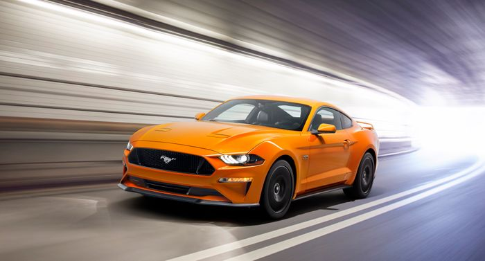 Ford Mustang leaks out early via promo footage