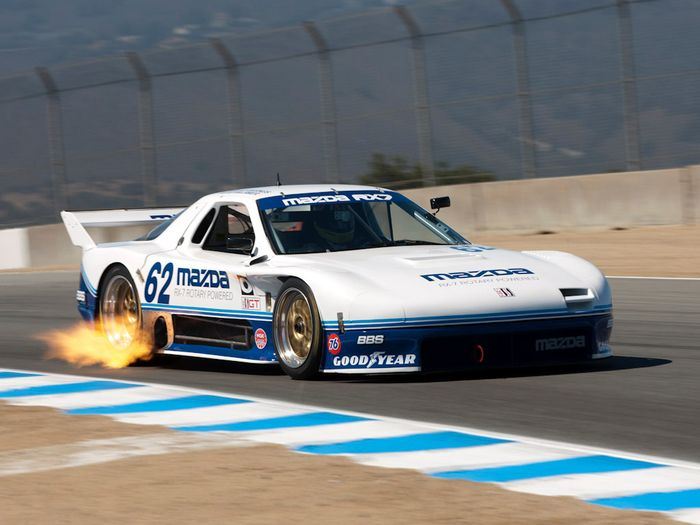 For 1990 Mazda Ran A Factory Backed GTO Team Alongside Its GTU MX 6 Fielding Both The 3 Rotor And 4 RX 7 Although Saw More