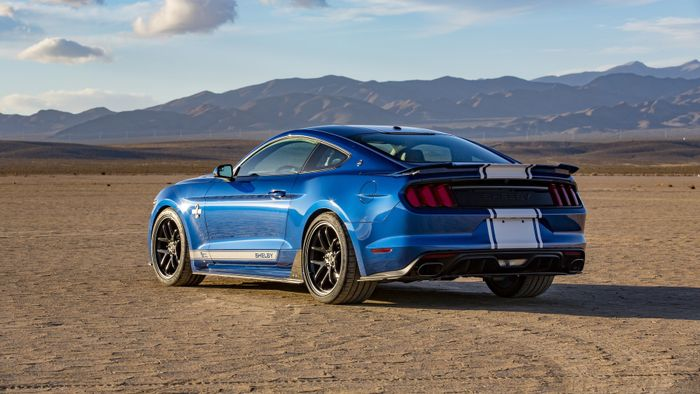 The 50th Anniversary Shelby Super Snake Mustang Is A 740bhp