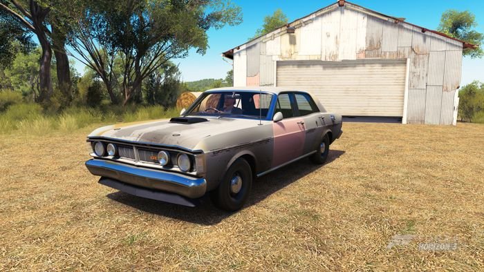 Just Picking Up My XY GT Barn Find Livery By Rawsthorne85 He Makes Brilliant Australian Liveries